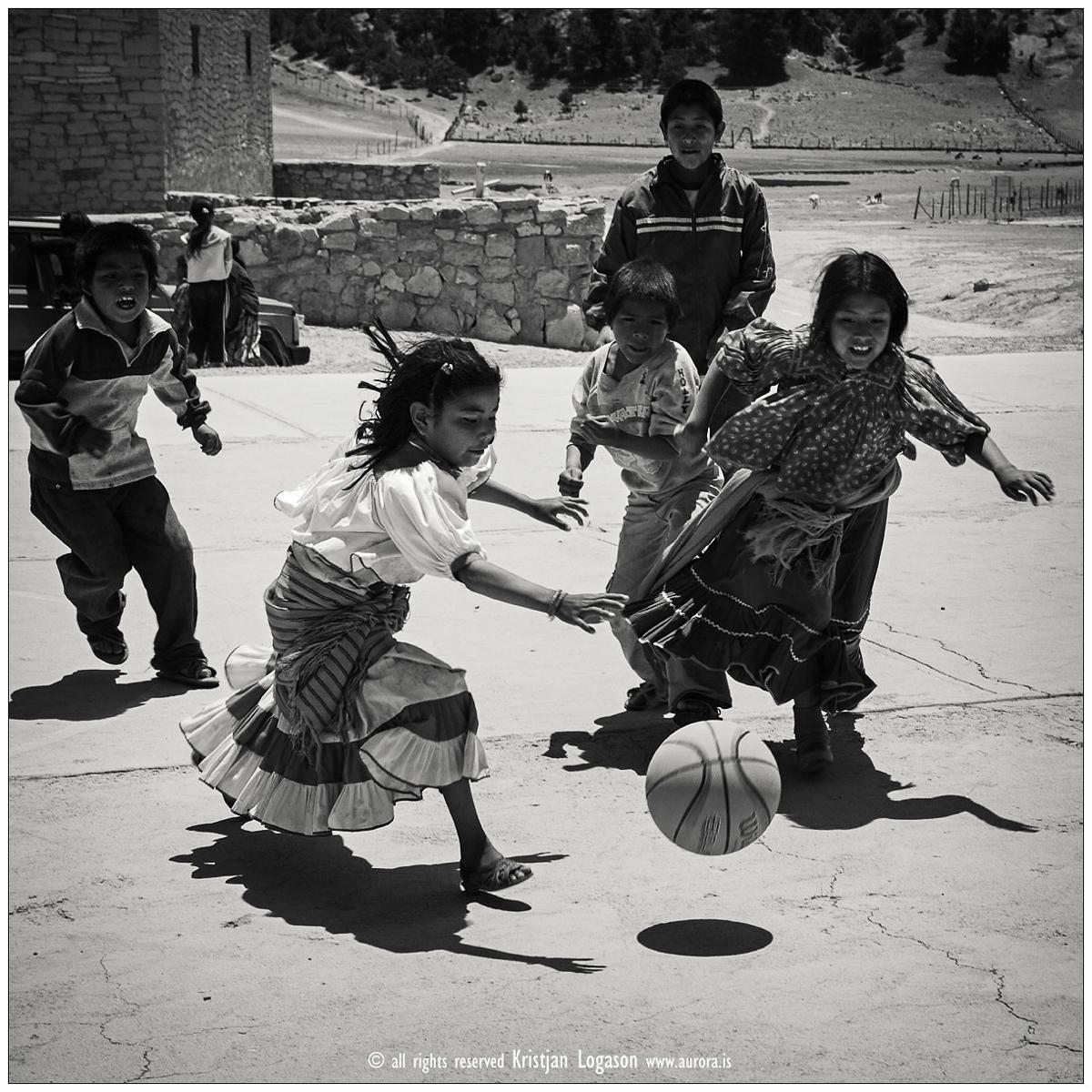Tamahumara's in basketball