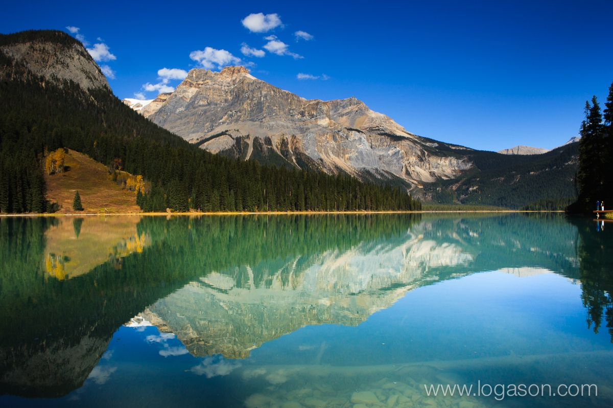 Emerald Lake,  Canadian Rockies, Canada