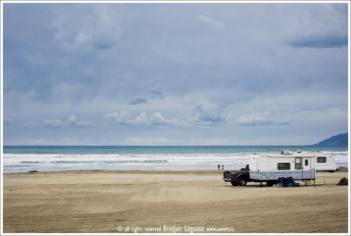 Camping in Oceano dunes