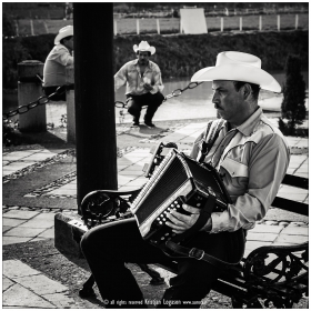 Mariachi man with Accordion