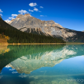 Emerald Lake,  Canadian Rockies, Canada